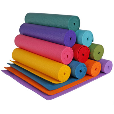rainbow yoga mat colors