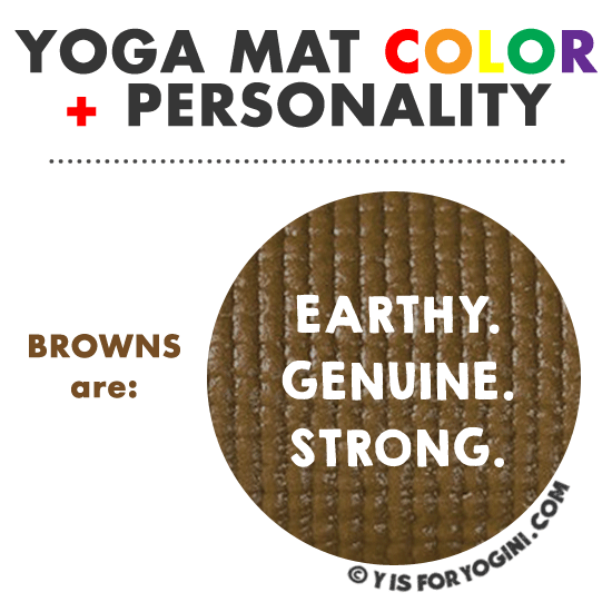 best color for yoga mat