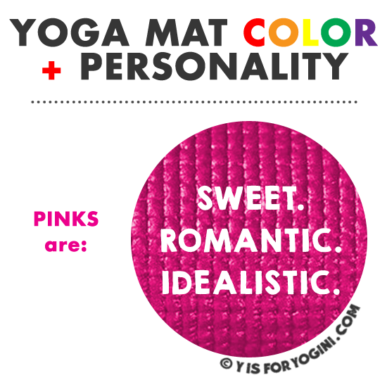 color psychology for pink yoga mats