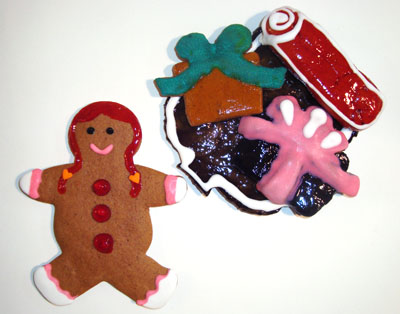 yogini claus cookie