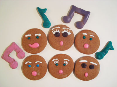 singing yoga cookies