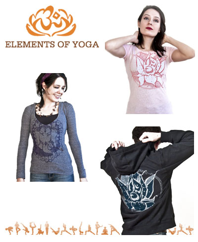 elements of yoga clothing