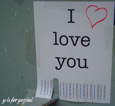 i love you sign