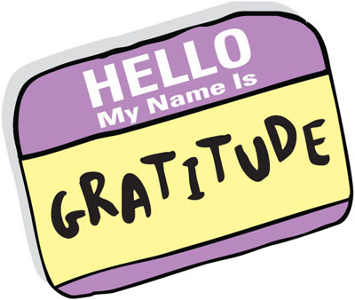 Hello my name is gratitude