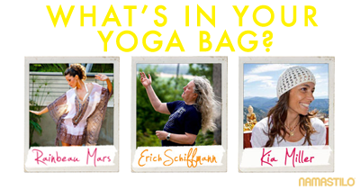 what's in your yoga bag series at namastilo
