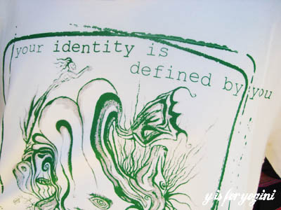 your identity is defined by you tee