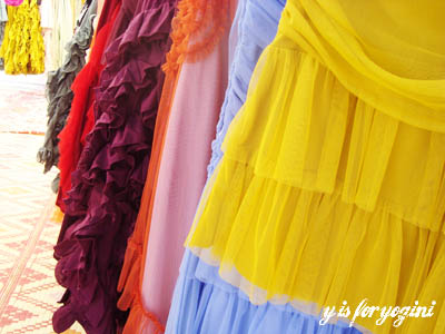 colorful skirts