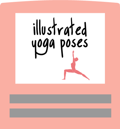 yoga poses books illustrated