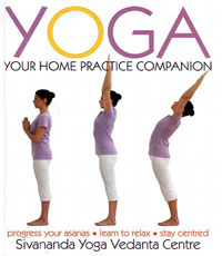 yoga home practice book