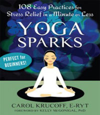 108 easy practices for stress relief yoga book
