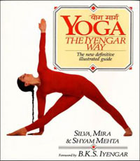 yoga the iyengar way yoga pose book