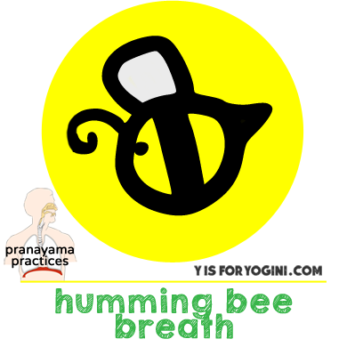 yoga breathing exercise humming bee breath pranayama