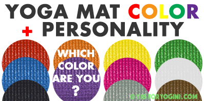 color yoga mat personality intention