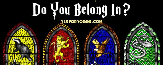 which hogwarts yoga house are you? yoga personality quiz