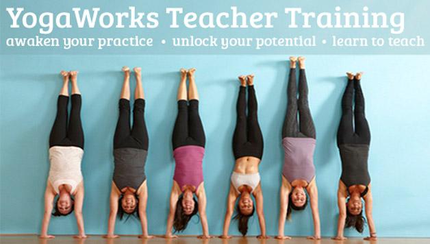 yogaworks teacher training program
